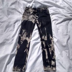Canyon Club Bleached Tie Dye Jeans